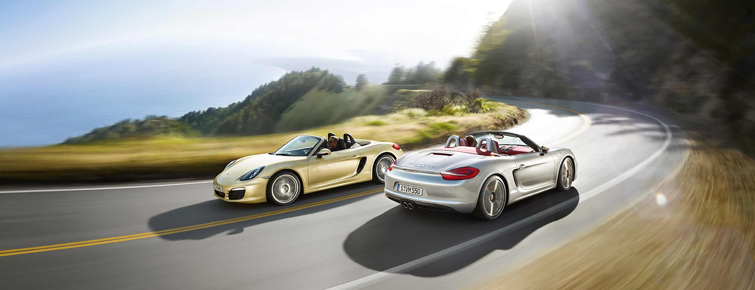 Boxster and Cayman