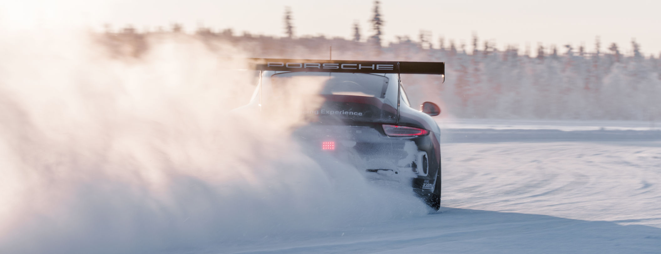 Porsche Ice Force Competition