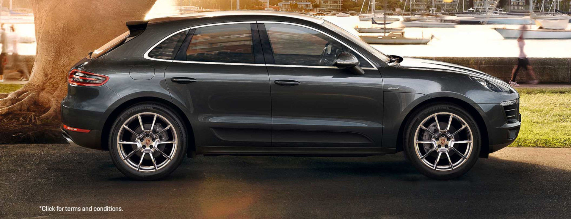 The Macan S Diesel. From $1,170 per month*.